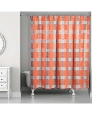 Red Barrel Studio Hamner Shower Curtain BF174641 Color Gray