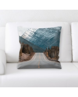 Jersey A Road to Many Places Throw Pillow Latitude Run