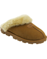 Women's Ugg Genuine Shearling Slipper, Size 7 M - Brown