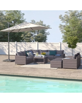 Humnoke 12 Piece Sectional Seating Group with Cushions