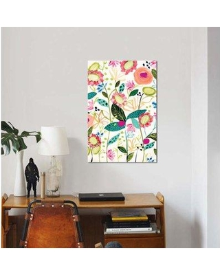 """East Urban Home 'Spontaneous' Graphic Art Print on Canvas EBHU7779 Size: 12"""" H x 8"""" W x 0.75"""" D"""