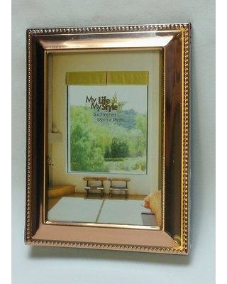 3ce4ef13066 Charlton Home Mayer Beaded Border Picture Frame CHRL7987 Picture Size  5