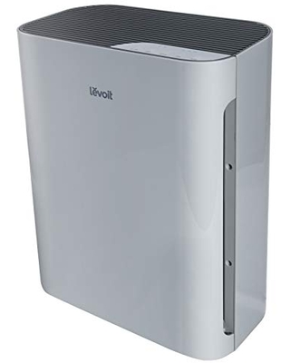 LEVOIT Air Purifier for Home Large Room, H13 True HEPA Filter Cleaner with washable filter for Allergies and Pets, Smokers, Mold, Pollen, Dust, Quiet Odor Eliminators for Bedroom, Vital 100 (Gray)