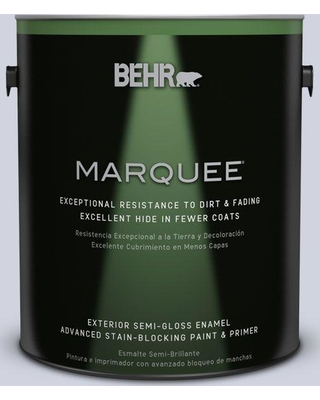 Spectacular Deals On Behr Marquee 1 Gal S560 1 Courteous Semi Gloss Enamel Exterior Paint Primer