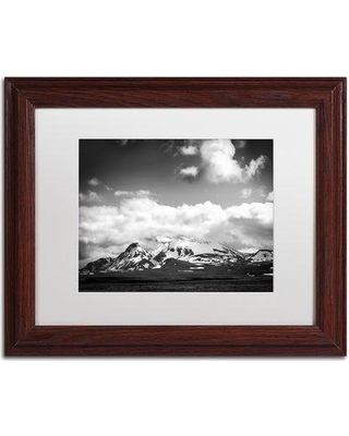 """Trademark Art 'A Minute of Your Time' Framed Photographic Print on Canvas PSL0591-B1114MF / PSL0591-B1620MF Size: 11"""" H x 14"""" W x 0.5"""" D Frame Color: Brown"""