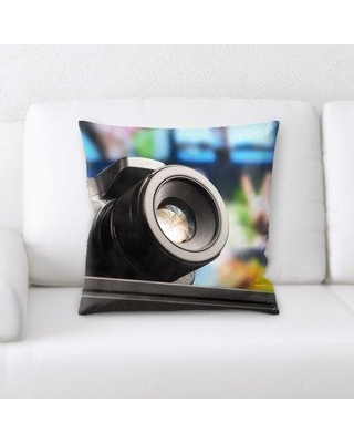 East Urban Home Photography Throw Pillow W000018406