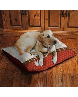 Laural Home Rescue Dog Fleece Dog Bed RD3040FDB