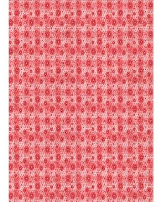 East Urban Home Floral Wool Red Area Rug W002511771 Rug Size: Rectangle 3' x 5'