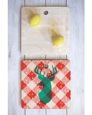Amazing Deals On East Urban Home East Urban Home Zoe Birch Wood Cutting Board Fvcn6995 Shape Square