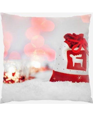 The Holiday Aisle Pressler Bag Indoor/Outdoor Canvas Throw Pillow W000239568