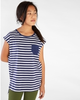 Tea Collection Classic Striped Pocket Tunic