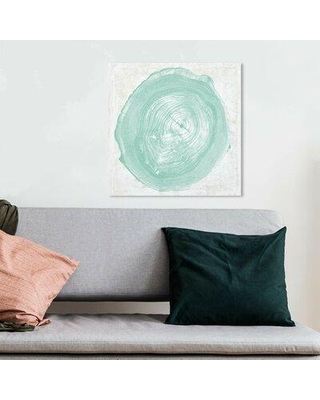 """House of Hampton® 'Legno in Verde Due' Graphic Art Print X113203682 Format: Wrapped Canvas Size: 12"""" H x 12"""" W x 2"""" D"""