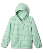 Columbia Kids & Baby Pixel Grabber Reversible Jacket, New Mint Grid, Large