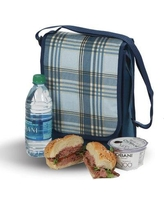 Freeport Park® Plaid Insulated Lunch Bag GSQL2810