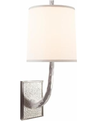 Visual Comfort and Co. Barbara Barry Lyric Branch 19 Inch Wall Sconce - BBL 2030SS-S
