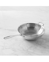 """Williams Sonoma Specialty Stainless-Steel Wok, 14"""""""