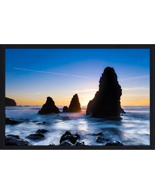 """PicturePerfectInternational """"Feeling Blue 2"""" Framed Photographic Print 704-3347-2436 / 704-3347-3248 Size: 27.5"""" H x 39.5"""" W x 0.75"""" D"""