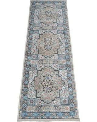 Bungalow Rose Beier Gray Area Rug W000444767 Rug Size: Runner 2'6'' x 9'10''
