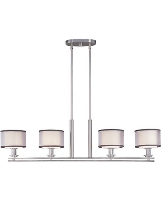 The Best Sales For Houseknecht 4 Light Kitchen Island Linear Pendant Darby Home Co