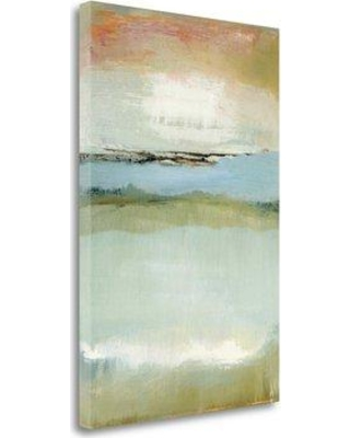 """Tangletown Fine Art 'Floating World' Print on Wrapped Canvas CA316340-1624c Size: 48"""" H x 32"""" W"""