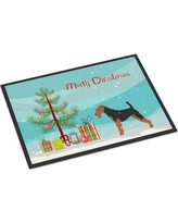 """The Holiday Aisle Sabin Airedale Door Mat HDAY2053 Mat Size: 1'6"""" x 2'3"""""""