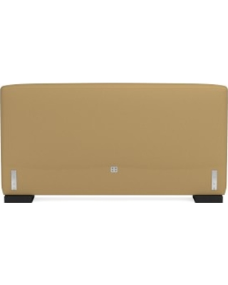 Robertson Headboard Only, King, Faux Suede, Camel