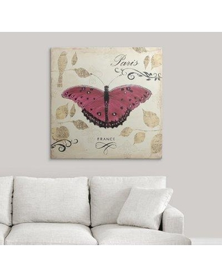 """Great Big Canvas 'Natures Gem II' by Emily Adams Graphic Art Print 2153468_1 Size: 35"""" H x 35"""" W x 1.5"""" D Format: Canvas"""