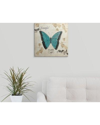 """Great Big Canvas 'Natures Gem III' by Emily Adams Graphic Art Print 2153469_1 Size: 16"""" H x 16"""" W x 1.5"""" D Format: Canvas"""
