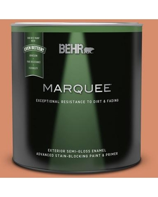 New Deals On Behr Marquee 1 Qt Mq4 38 Balcony Sunset Semi Gloss Enamel Exterior Paint And Primer In One