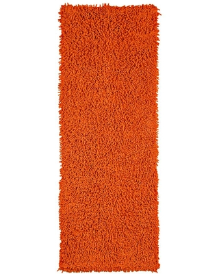 St Croix Trading Company Copper Shag Chenille Twist 2 ft. x 5 ft. Runner Rug, Brown