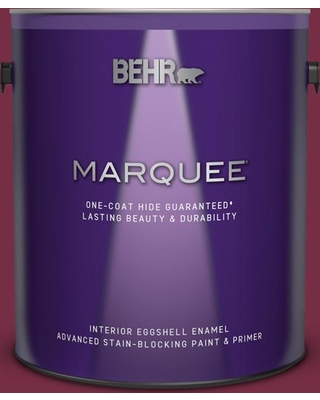 BEHR MARQUEE 1 gal. #S-H-110 Wine Tasting Eggshell Enamel Interior Paint and Primer in One