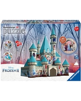 Ravensburger 11156 Disney Frozen 2 Castle - 216 Piece 3D Jigsaw Puzzle for Kids and Adults - Easy Click Technology Means Pieces Fit Together Perfectly, No Glue Required,Multi