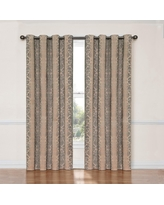 Eclipse Thermalayer Nadya Blackout Curtain Panel, Linen