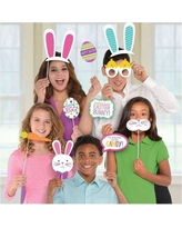 Amscan Easter Photo Props in Blue/Orange/Pink, Size 14.0 H x 8.5 W x 0.2 D in | Wayfair 399647