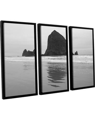 ArtWall Goonies Rock by Cody York 3 Piece Framed Photographic Print on Canvas Set 0yor041c3654f