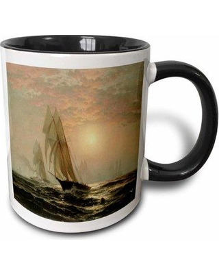 East Urban Home The Madeleins Victory Over the Countess of Dufferin Americas Cup Race by Edouard Moran Coffee Mug W000586850