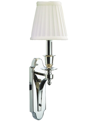 Hudson Valley Newport Wall Sconce in Polished Nickel