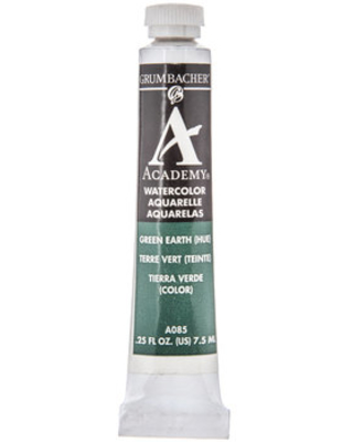 Green Earth Hue Academy Watercolor Paint
