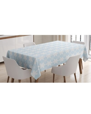 """Tablecloth East Urban Home Size: 84"""" x 60"""""""