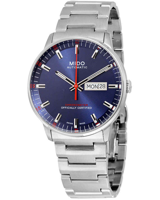 Mido Commander II Automatic Blue Dial Mens Watch M021.431.11.041.00
