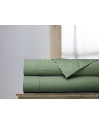 600 Thread Count 100% Cotton Sheet Set Darby Home Co Size: King, Color: Loden