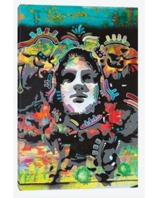 "East Urban Home 'Psyche' Graphic Art Print on Canvas UBAH4365 Size: 26"" H x 18"" W x 0.75"" D"
