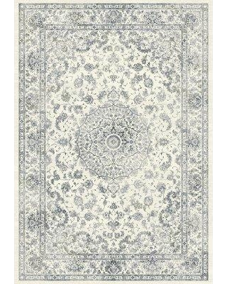 "Astoria Grand Attell Cream Area Rug ATGD5660 Rug Size: Rectangle 7'10"" x 11'2"""
