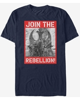 Star Wars Join the Rebellion Poster T-Shirt