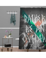 Deny Designs Wesley Bird Rather Be An Outlaw Shower Curtain 14062-shocur