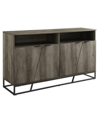 Forest Gate 58-Inch Farmhouse TV Stand in Grey Wash