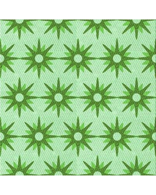 East Urban Home Sammie Wool Green Area Rug X113630132 Rug Size: Round 5'