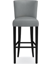 Trevor Bar Stools, Tuscan Leather, Dove