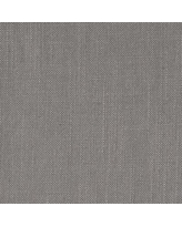 Fabric By The Yard, 1 Yard, Performance Linen Blend, Solid, Graphite