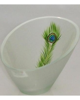 Womar Glass Peacock Series Candle Holder Vase GA024080
